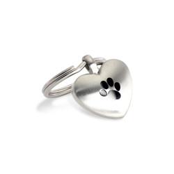 SHPH001 Dog Heart Charm (SS)