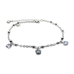 AKSW001 Butterfly Anklet (SS)